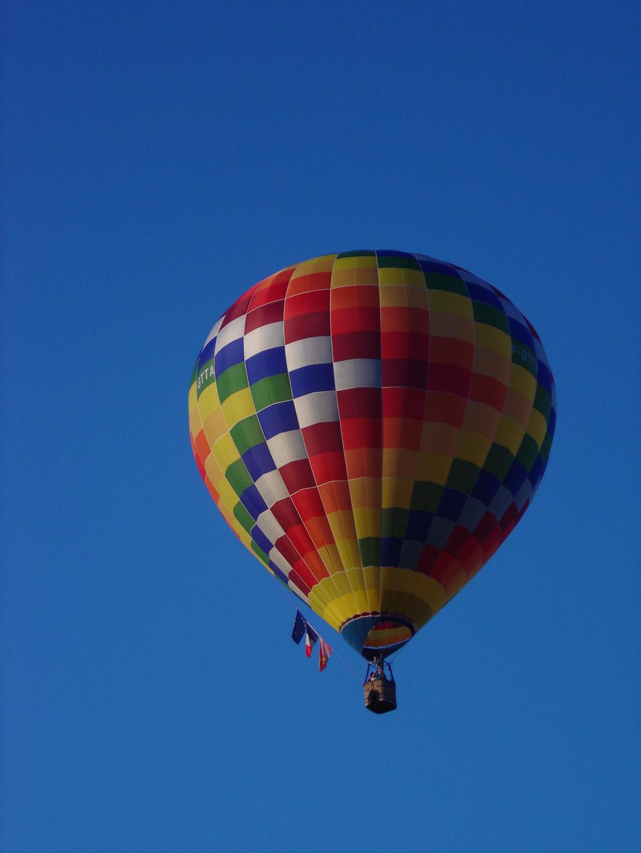 C'est partis pour un tours en montgolfière