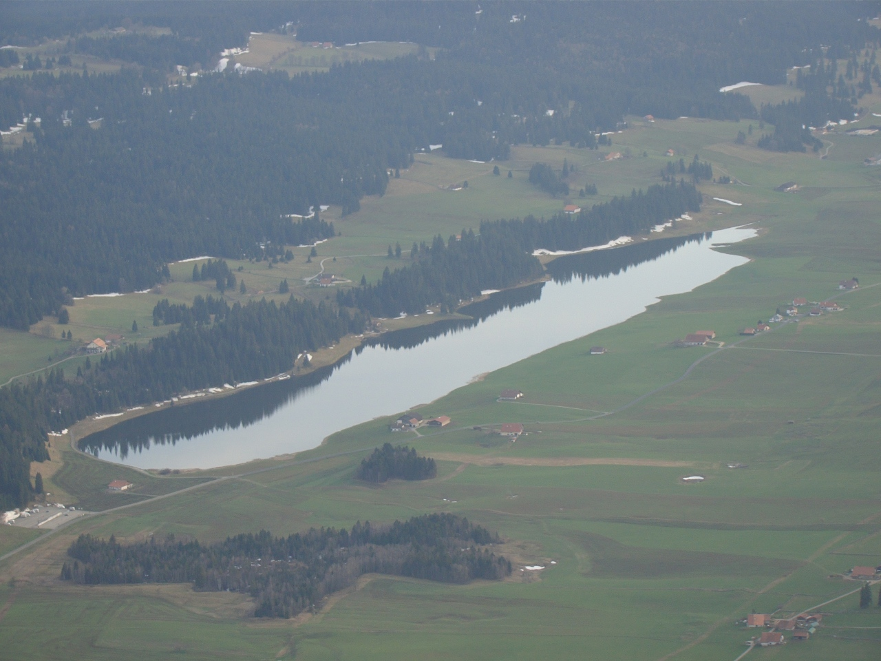 Lac-mirroir