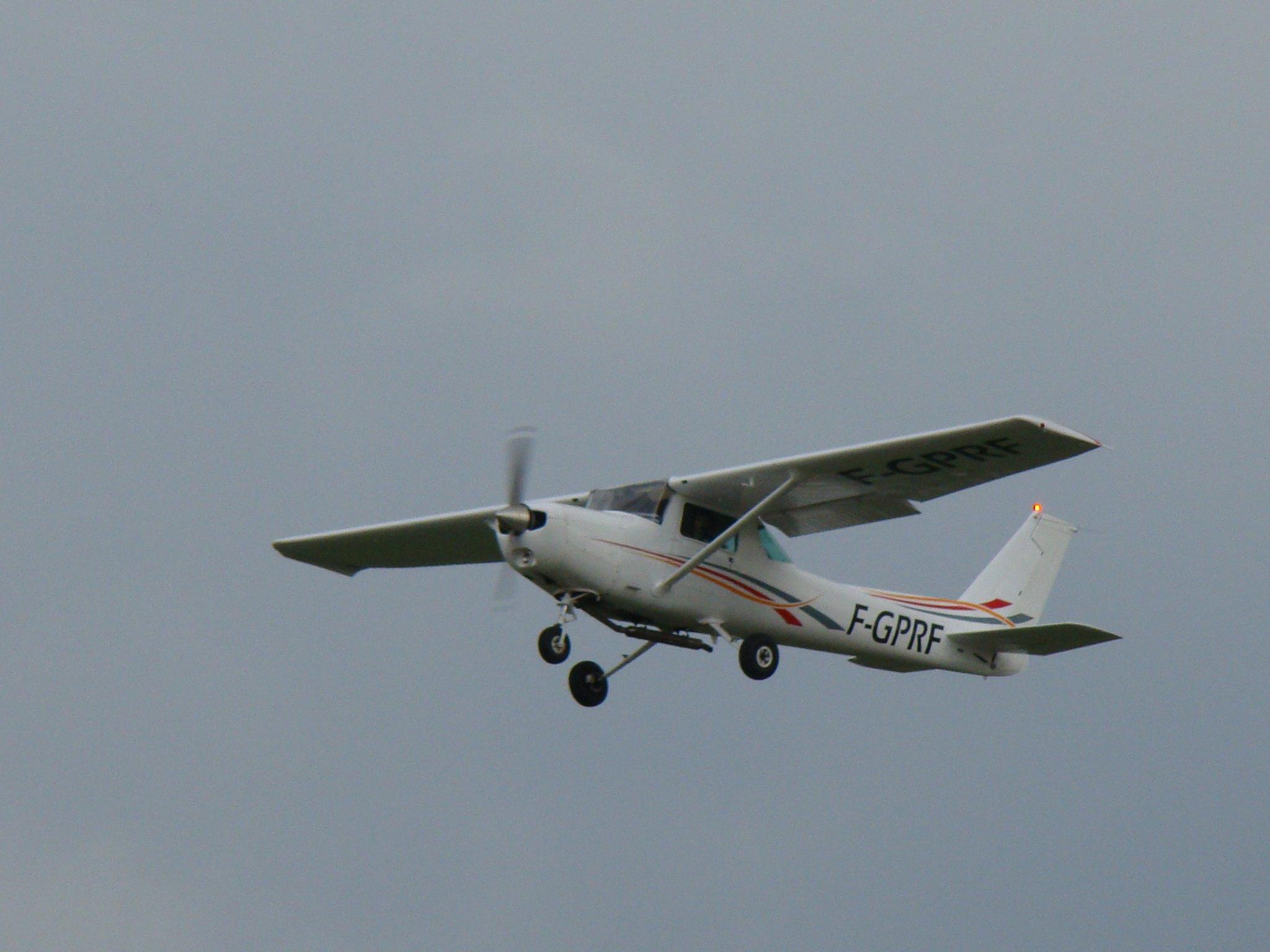 Le Romeo-Fox aujourd'hui au décollage