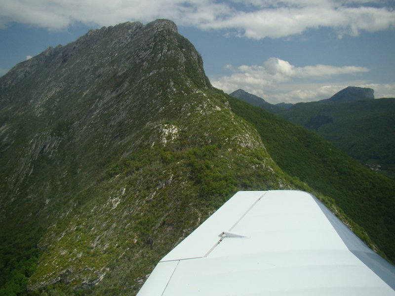Vol dans la vallée de Grenoble