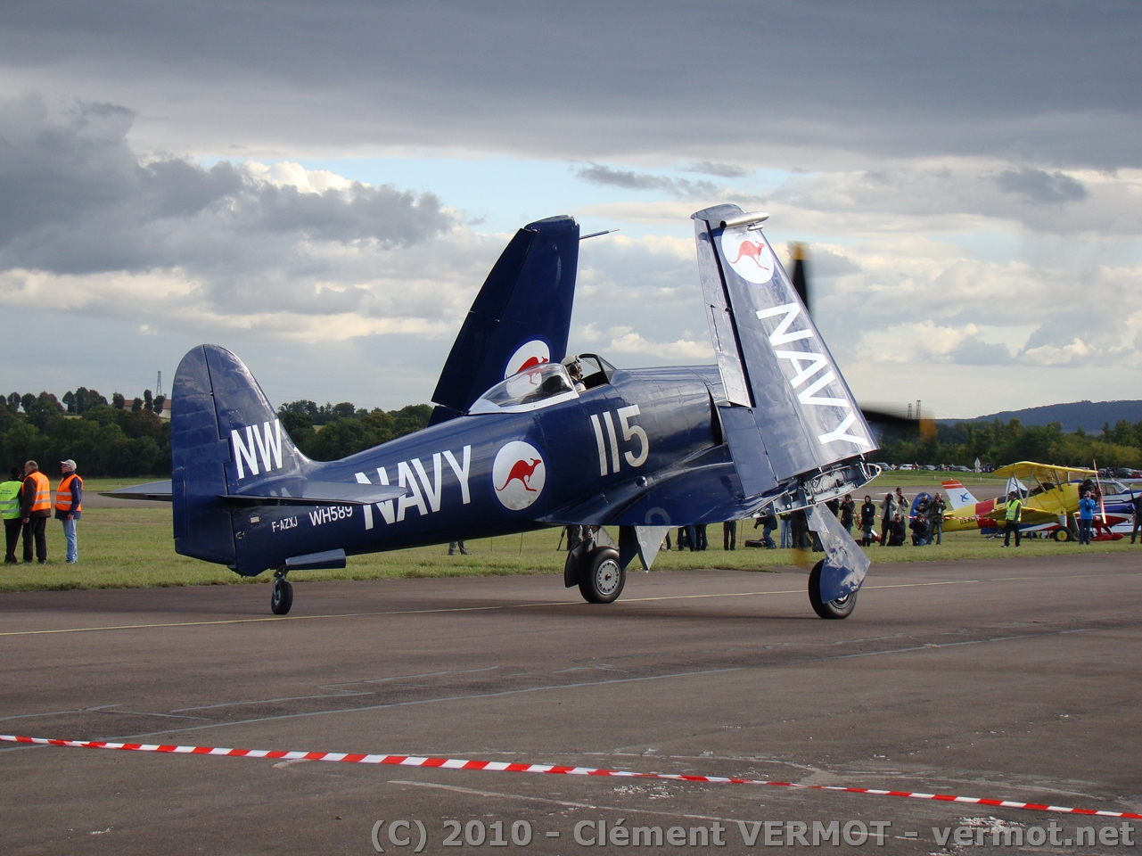 Hawker Sea Fury FB Mk 11 F-AZXJ
