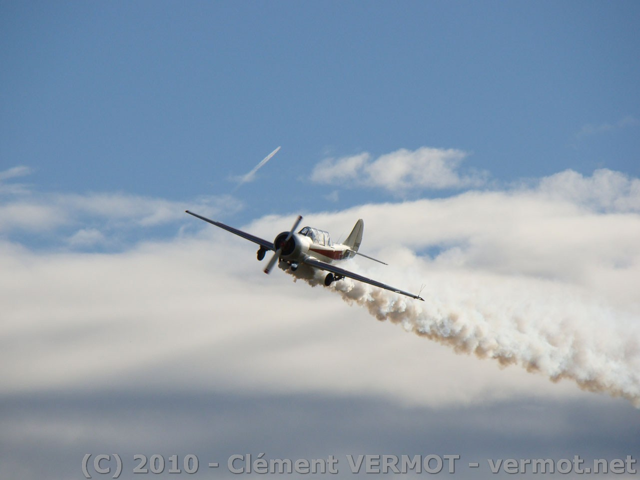 Passage bas du Yak 52