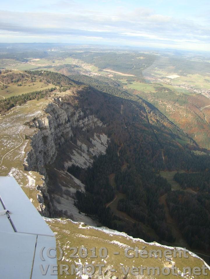 Le mont d'Or, coté falaise