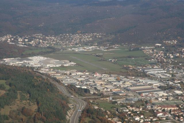 Arrivée sur Annecy