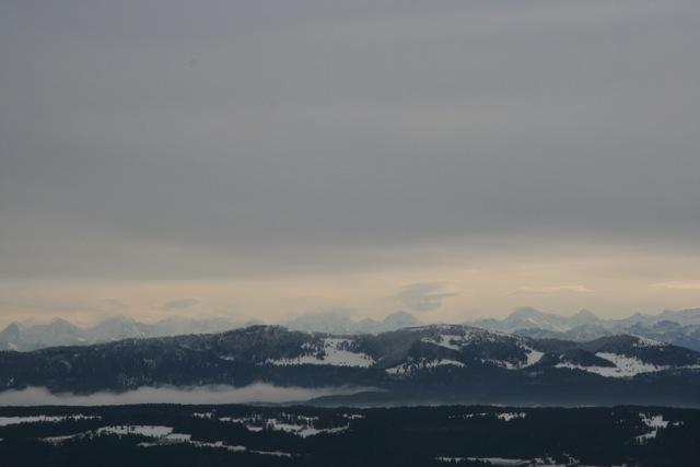 Le 20 novembre : on voit les Alpes !