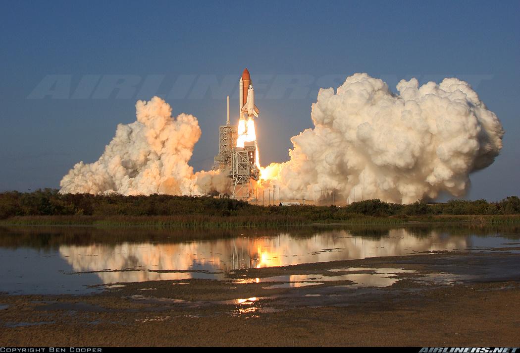 Décollage de la mission STS-133 (Discovery)