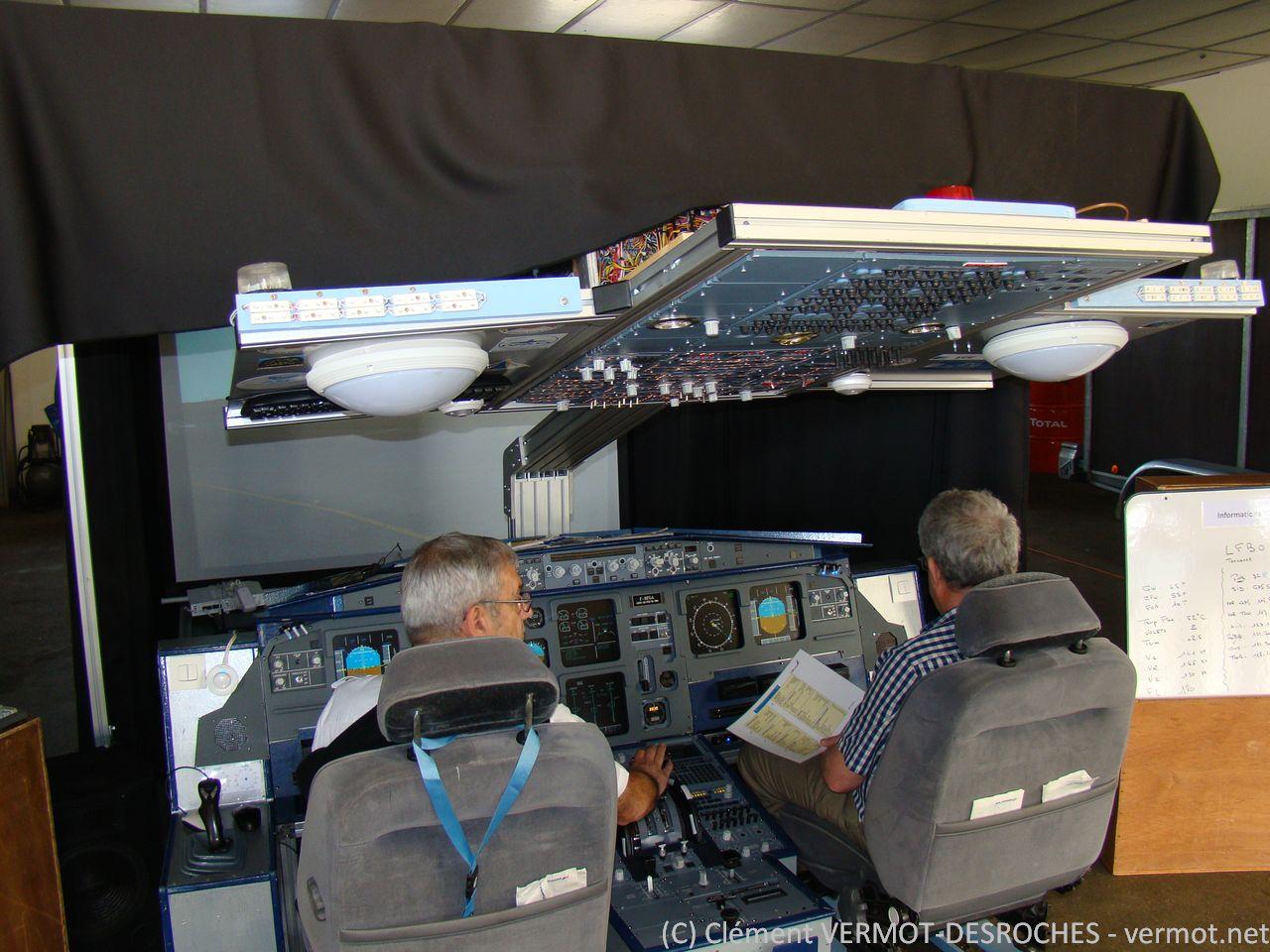 Le simulateur d'A320