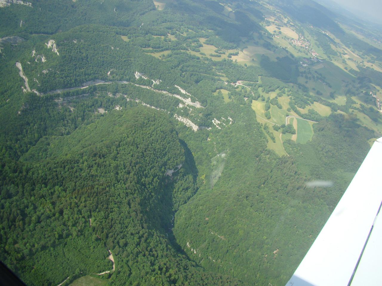 La vallée d'Ornans