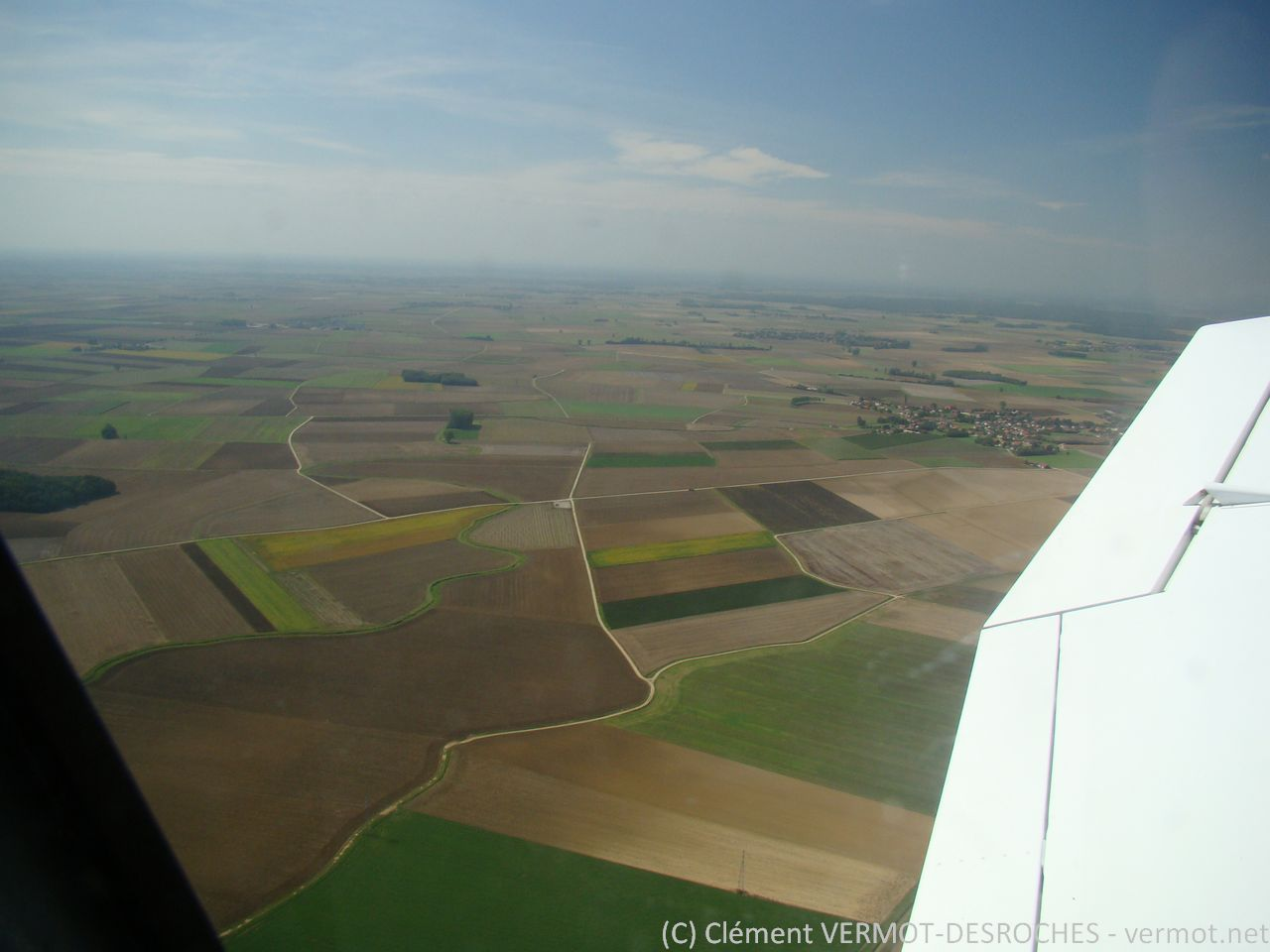 La plaine autours de Dôle