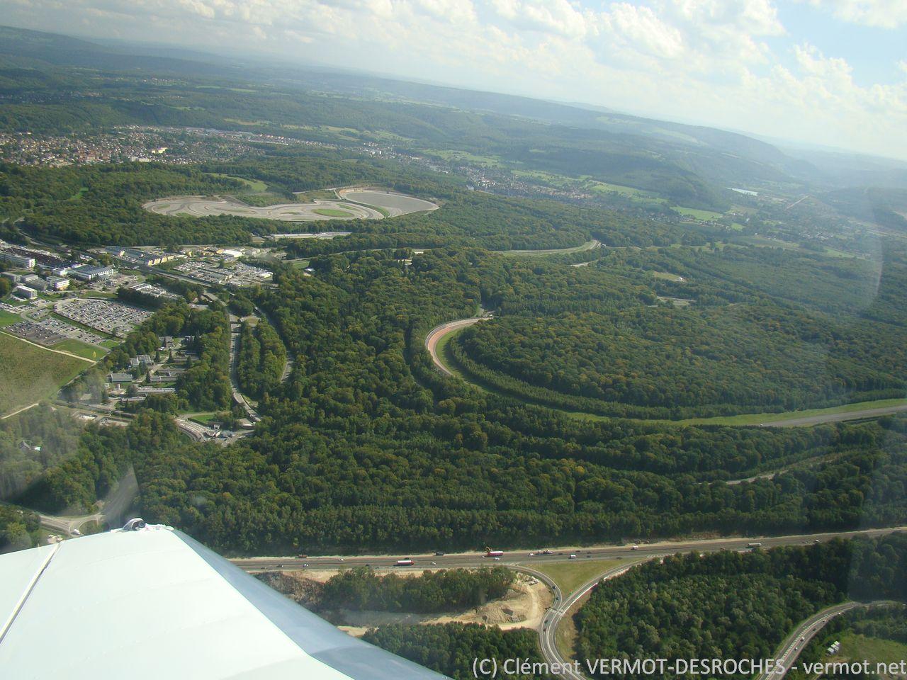 Les circuits d'essai de Peugeot à Sochaux