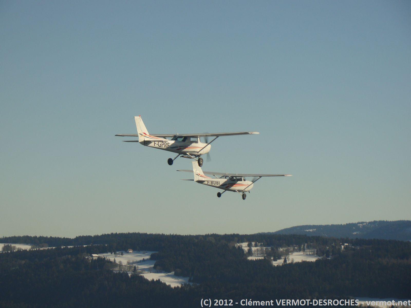Les 2 Cessna