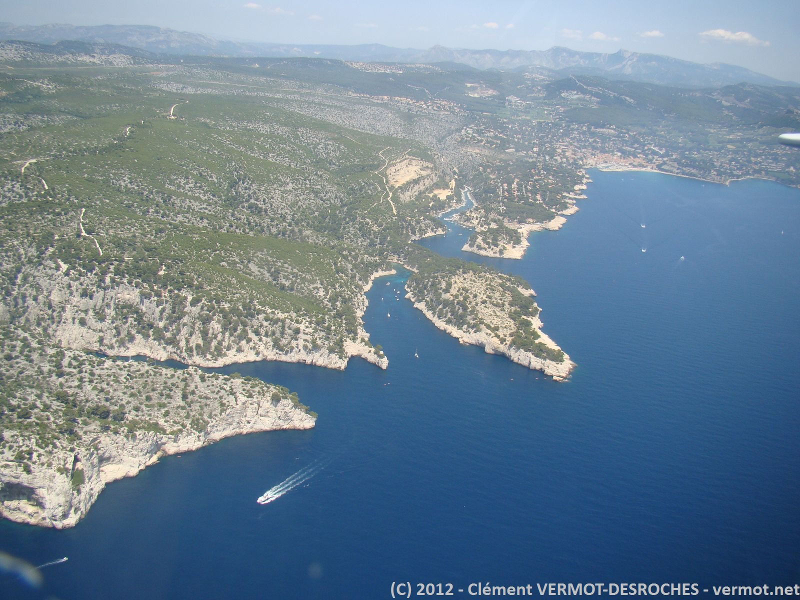 Les calanques peut avant Marseille