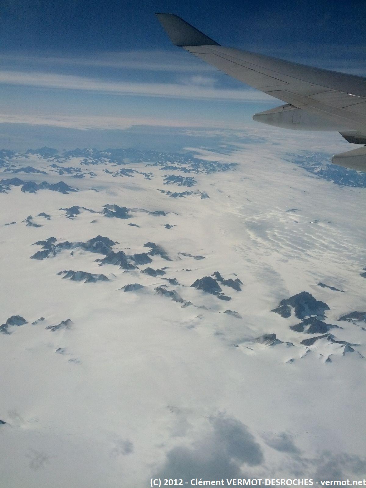 Quelque part au dessus de l'Islande