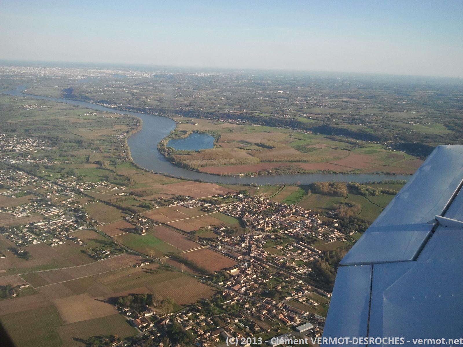 Au départ à l'ouest de Bordeaux