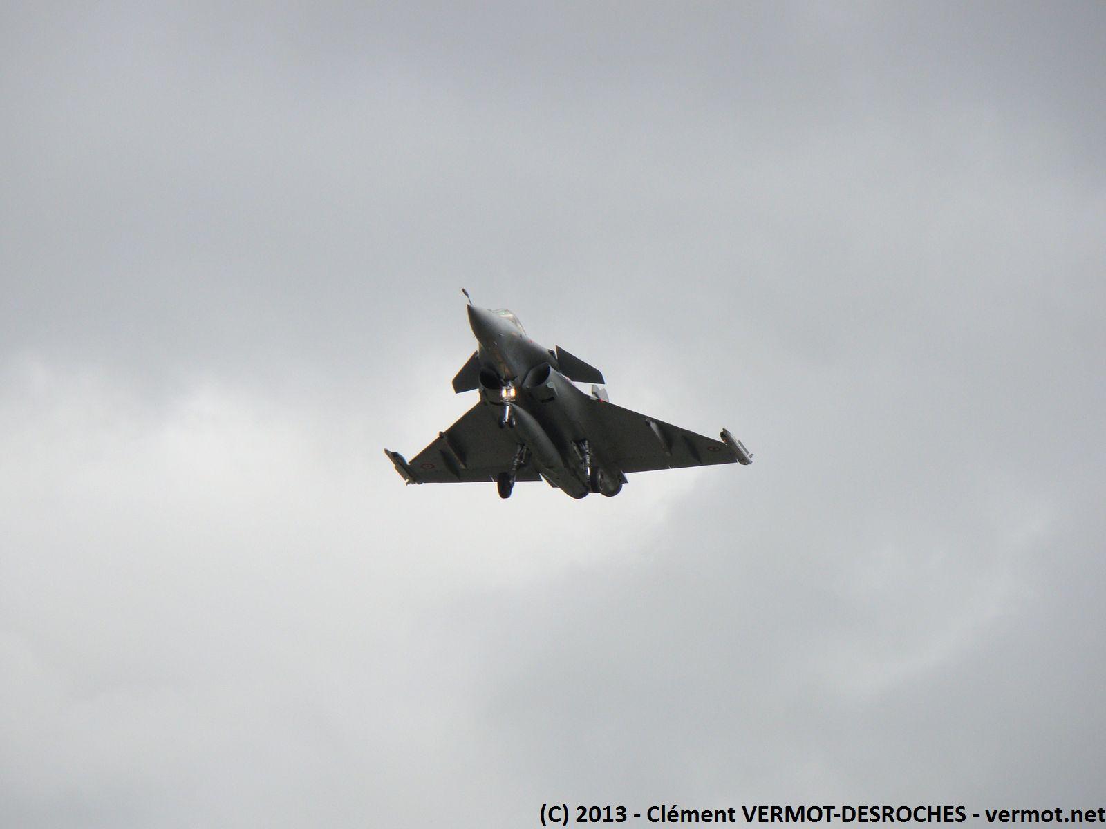Rafale en approche a Bordeaux