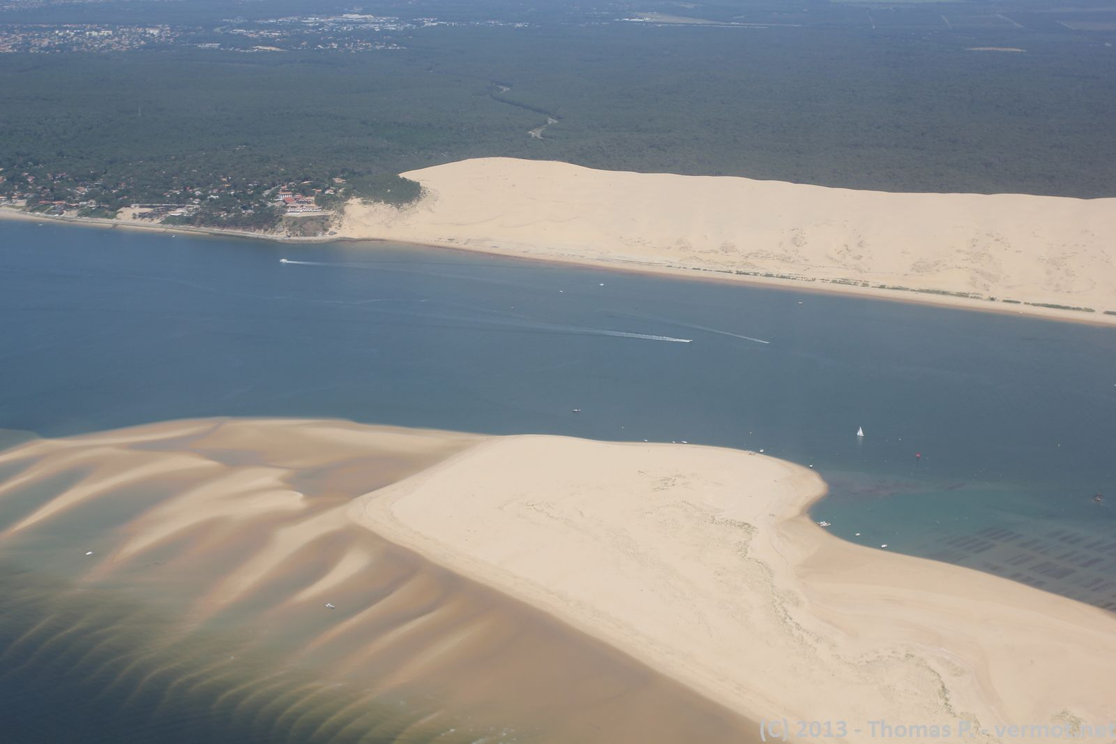 Le banc d'Arguin et la dune