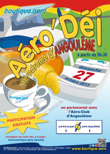 Aérodej d'Octobre 2013 à Angoulême