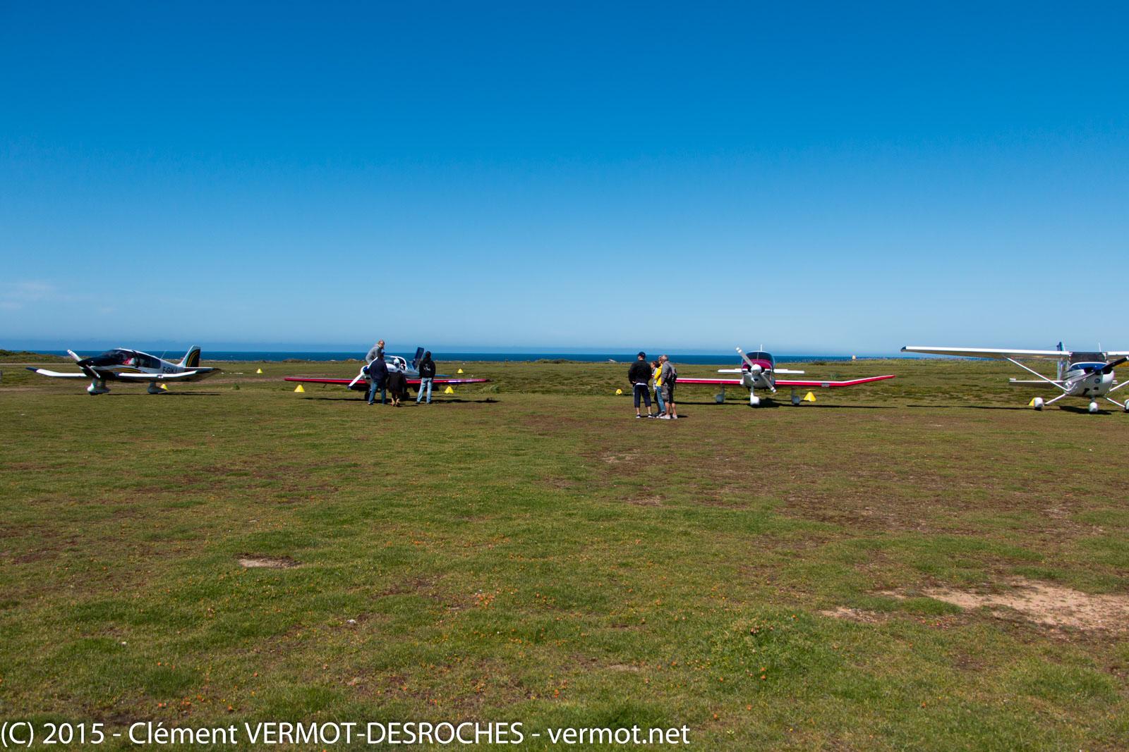 L'aérodrome de l'île d'Yeu