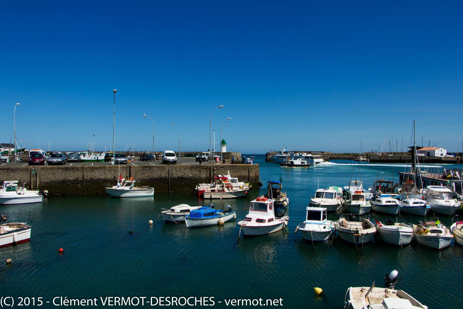 Le port de Port Joinville