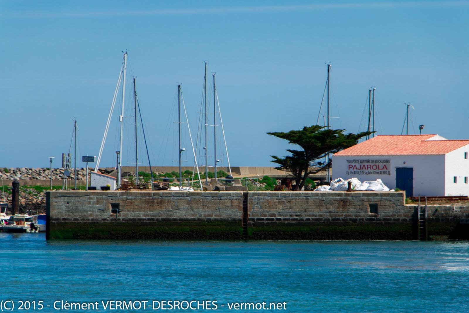 Sur le port de port Joinville