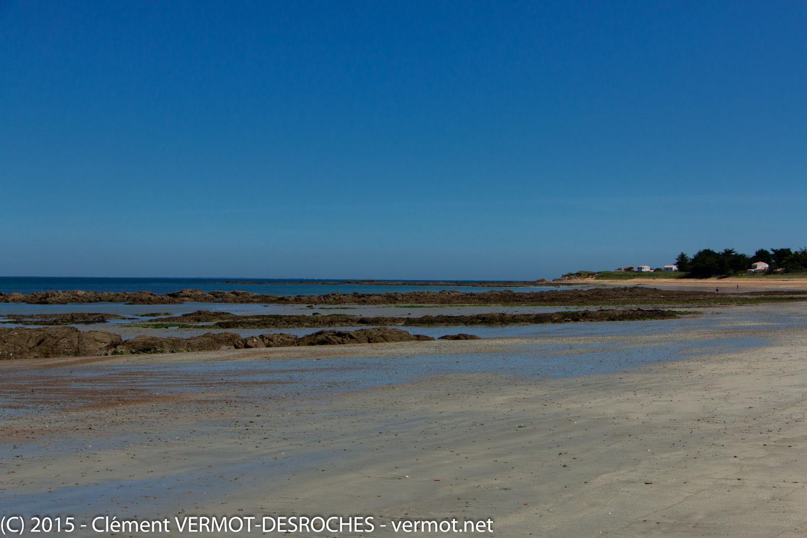 La plage de port Joinville