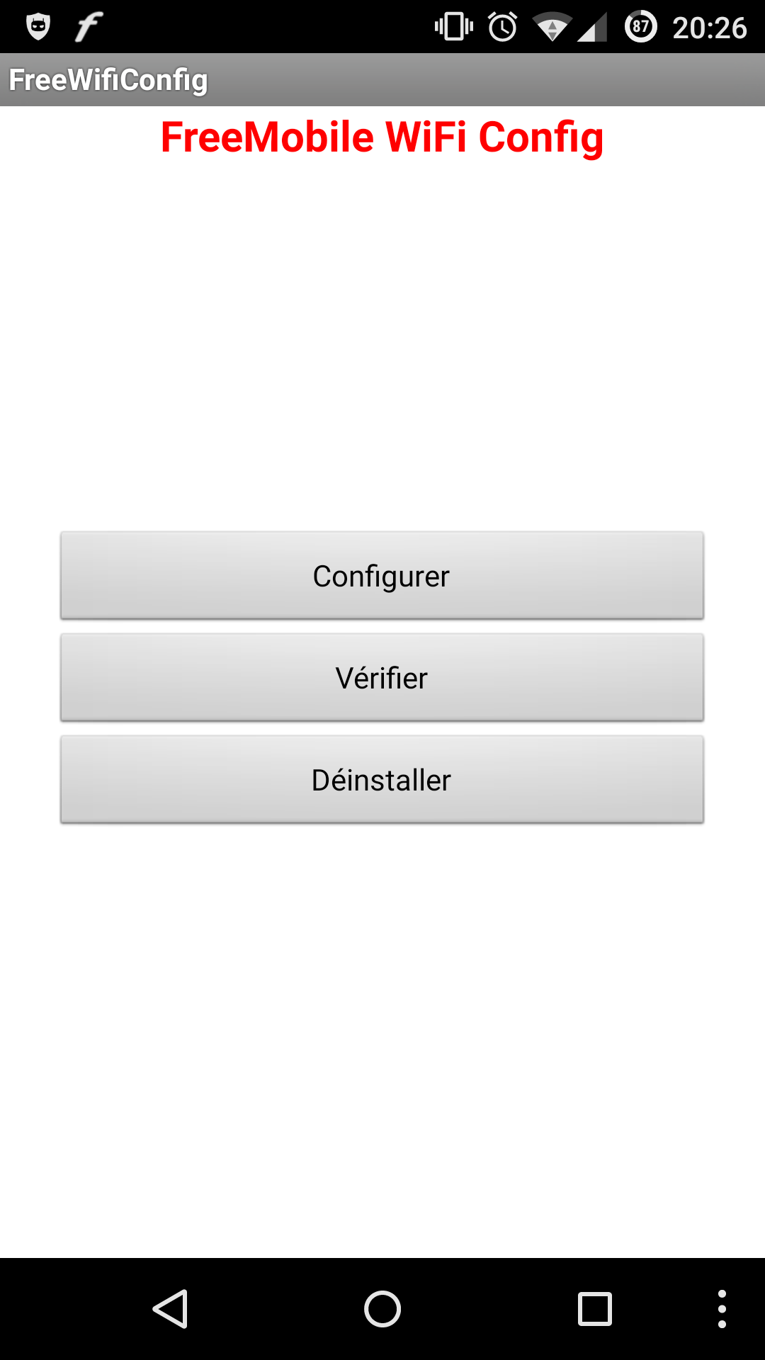 L'application FreeWifiConfig... on ne peut plus simpliste...