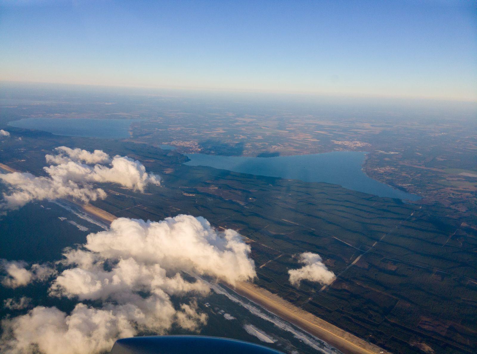 Les étangs de Cazaux et de Biscarrosse