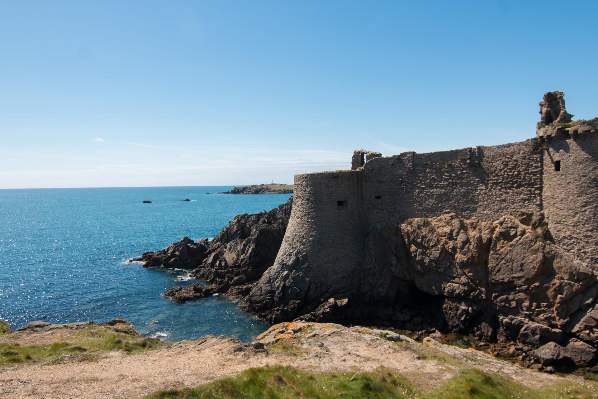L'éternel château de l'île