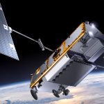 Vue d'artiste d'un satellite Iridium NEXT