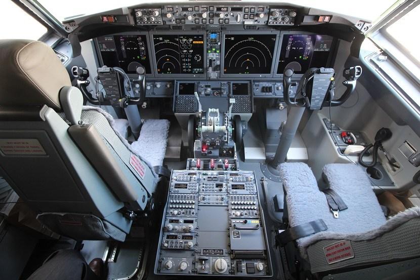 Cockpit 737 Max